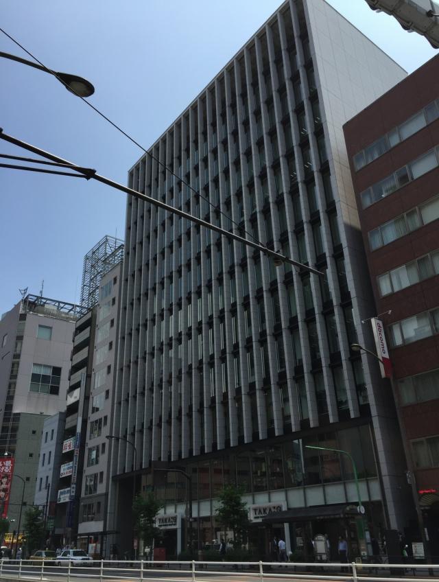 新橋アイマークビル外観