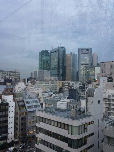 御成門PREXビル屋上からの眺望