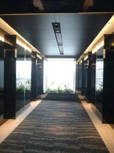 日比谷パークフロントエレベーターホール