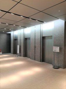 九段ファーストプレイス エレベーターホール