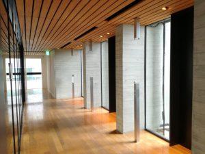 木材会館エレベーターホール